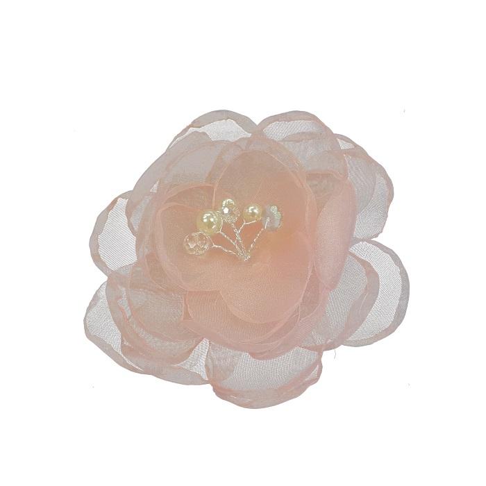 Real silk flower hair piece w clip small colour option great real silk flower hair mightylinksfo